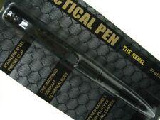 VOODOO TACTICAL Black REBEL Tactical SELF DEFENSE Pen New! 07-0153001000