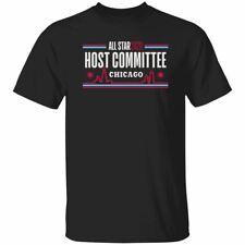 All Star 2020 Chicago Host Committee NBA T-shirt Fan Basketball Men's Black Navy