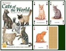 Heritage Playing Cards - Cats Of The World - NEW & SEALED