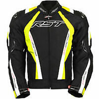 BRAND NEW RST PRO SERIES 1722 CPX-C W'PROOF MOTORCYCLE JACKET SIZE 3XL YELLOW