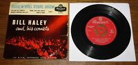 "BILL HALEY AND HIS COMETS UK ROCK N ROLL STAGE SHOW BRUNSWICK 7"" EP 1958"