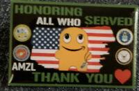 Veterans Peccy Pin