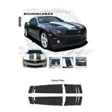 Chevrolet Camaro 2010-2013 Bumble Bee Style Stripe Graphic Kit - Carbon Fiber