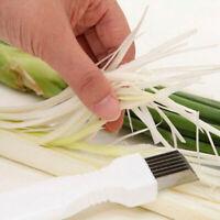 Zwiebelschneider Gemüseschneider Shredder Kichen&Einfache Griff Helper Tool D0E4