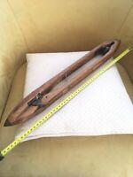 Ancienne navette en bois de métier à tisser marqué GEER KLÜSKER .. Tissage ..