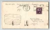 Canada 1930 FFC North Battleford to Edmonton / PM Signed (Can-235r) - Z12878