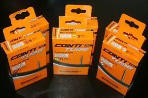 2 x New Boxed Continental Race 28 (700c) Road inner Tubes 42mm,60mm,80mm valves