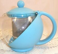 Glass Infusion Teapot ~ Cold or Warm Brew ~ Fruit Infuser ~ 2 Cups/16 Oz.~ NWOT