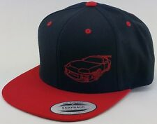 TOYOTA SUPRA SNAPBACK / Embroidered on Classic Yupoong Snapback Hat Cap