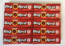 Big Red Cannelle Chewing-gum Wrigley's 10x5 Stick Packs American Gum OCT/DEC18
