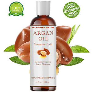 Moroccan Argan Oil 100% Pure Virgin Unrefined from Morocco Hair Nails Skin Face