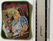 Destruction -  Limited edition patch -WOVEN SEW ON PATCH - free shipping