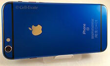 Apple iPhone 6S (Latest Model) 16GB (Unlocked) Navy Blue 24K 24ct Gold
