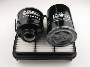 Mitsubishi Triton filter kit oil,air,fuel suits ML with 3.2l 4M41 eng 2006-2009