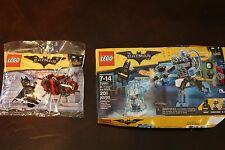 (DAMAGE BOX) BATMAN MOVIE LEGO 70901 MR FREEZE ICE ATTACK 30522 PHANTOM ZONE LOT