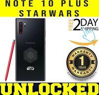 Samsung Galaxy NOTE 10 PLUS (STARWARS) AURA BLACK N975U1 256GB (UNLOCKED) ❖O/B❖w