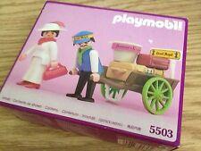 VINTAGE Playmobil 5503 Victorian Lady Maid & Worker MISB, MIB, MIP, BOX RARE NEW
