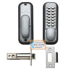 Digital Push Button Door Lock Key Pad Code Combination Access Mechanical