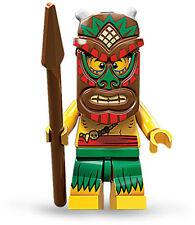 LEGO 71002 Series 11 Minifigure - Island Warrior (Tiki) - New/Mint
