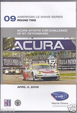 2009 ALMS ACURA Sports Car Challenge St Petersburg American Le mans Series DVD