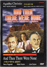 Agatha Christie - And Then There Were None / Ten Little Indians - Classic DVD