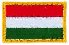 Patch bestickter Aufnäher Flagge Ungarn Ungarisch Heißklebend Abzeichen Wappen