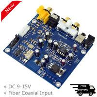 YJ-ES9038 Q2M DAC Board I2S DSD Fiber Coaxial Input Decoder Board DAC