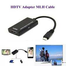 MHL Micro USB To HDMI 1080P HD TV Cable Adapter for Android Smart Phone Samsung