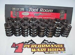 """16 Isky 1.630"""" Roller Cam Dual Valve Springs with Damper Crower PAC Comp Manley"""