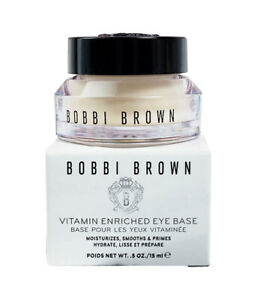 Bobbi Brown Vitamin Enriched Eye Base 15 ml / 0.5 oz Full Size New in Box