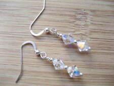 Handmade Pearl Screw Back (pierced) Costume Earrings