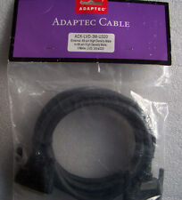 Adaptec Cable, External,68-Pin Male To 68-Pin Male, 3 Meter, LVD, Ultra 320(New)