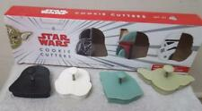 Williams Sonoma Star Wars Set Of 4 Plunger Cookie Cutters