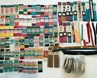 90%2B+Piece+Lot+Mixed+New+Vintage+Sewing+Supplies+Seam+Binding-Zipper-Trim