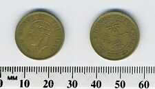 Hong Kong 1948 - 10 Cents Nickel Brass Coin - King George VI