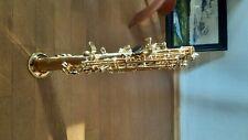 sopran saxophon Sturzschaden Instrument nur für Ersatzteile geeignet