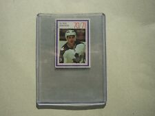 1970/71 ESSO POWER PLAYERS NHL HOCKEY STAMP CARD PAUL HENDERSON SHARP!! 70/71