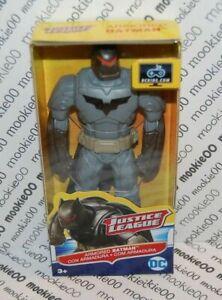 """DC Justice League ARMORED BATMAN 6"""" Inch Action Figure Mattel FGL71"""