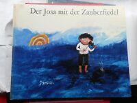 Janosch: Der Josa mit der Zauberfiedel 1974 Der Kinderbuchverlag Bilderbuch DDR