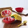 Creative Fruits Pattern Ceramic Dinner Bowl Tableware Ice Dessert Milk Rice Bowl