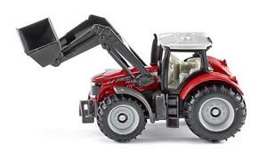 NEW Siku Massey Ferguson Tractor with Front Loader Die Cast Toy Car 1484
