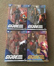 Brand New Sealed Lot of 4 G.I. Joe Classified Figures
