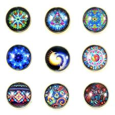 Noosa Style Chunks Ginger Snap On Jewellery Button Charm Cultural Symbol 18mm 11