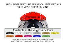 4x PORSCHE Brake Caliper Decals PREMIUM 10-12 YR HIGH TEMP NON SHRINKING VINYL