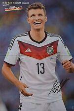 THOMAS MÜLLER - A3 Poster (ca. 42 x 28 cm) - Fußball Clippings Sammlung NEU