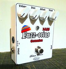 Rafferty Handcrafted Jaco Pastorius Germanium Bass Fuzz Pedal [+Video Demo]