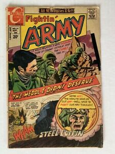 FIGHTIN' ARMY #99 Charlton - September 1971 - GD 2.0