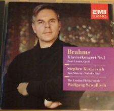 Brahms: Klavierkonzert Nr. 1 by Stephen Kovacevich CD (EMI) London Phil - MINT