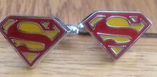 Superman Cufflinks Super Hero Novelty S Cufflinks Free Christmas Gift Pouch Uk