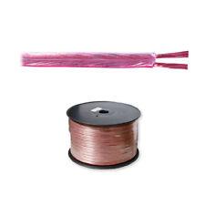 100 Meter 2 x 1,5mm² Lautsprecherkabel Boxenkabel Lautsprecher Audio Box Kabel